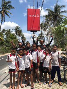 nager à Bali